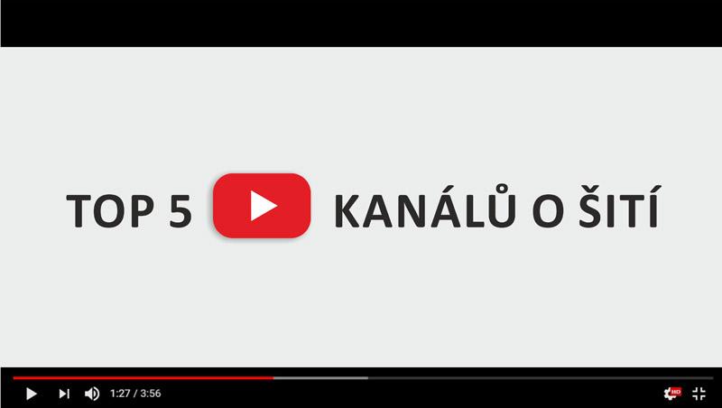 05273fcb4bf6 Youtube videa o šití