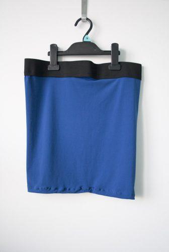Hokus pokus aneb modrá sukně z úpletu