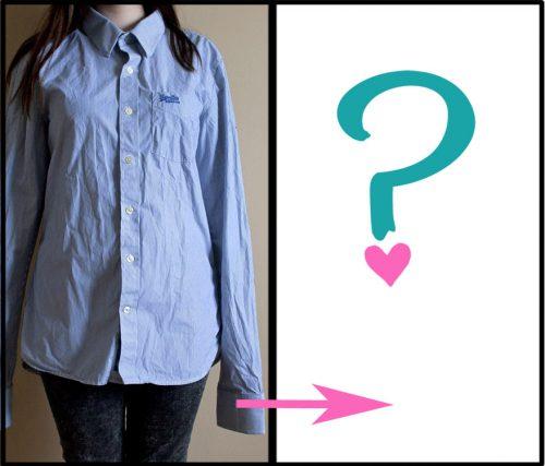 Refashion: Šaty z pánské košile a nový přírůstek do šicí dílny