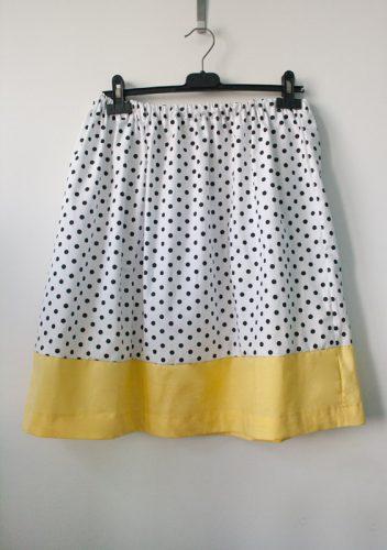 Midi sukně bez střihu - za 60 minut