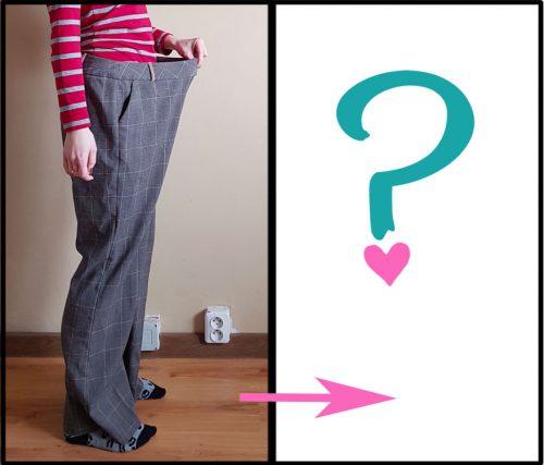 Refashion: Kostkované kalhoty jako základ šatníku